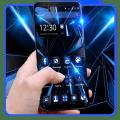 Black Blue Future Theme Icon