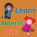 Learn Months and Days names Icon