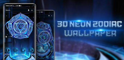 3D Neon Zodiac Wallpaper apk