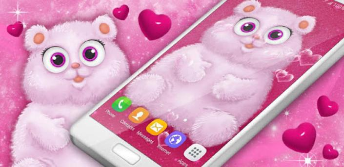 Cute Fluffy Live Wallpaper ❤️ Hearts Wallpapers apk