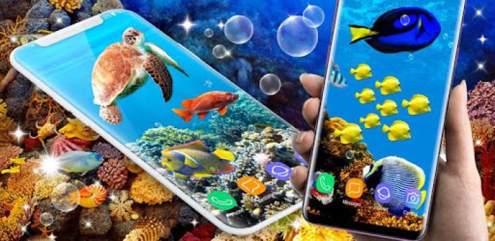 Fish Live Wallpaper 🐠 Ocean Water Wallpapers apk
