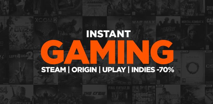 Instant Gaming apk