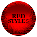 Red Icon Pack Style 5 ✨Free✨ Icon