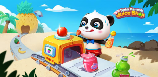 Baby Panda's Summer: Juice Shop apk