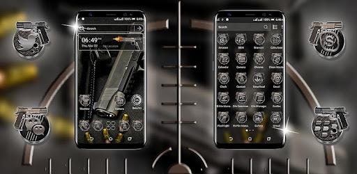 Gun Bullet Launcher Theme apk