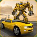 Grand Shooting Robot Transform Car 2019 Icon