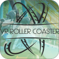 Roller Coaster vr 3D Icon