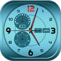Clock Backgrounds Real Time Icon