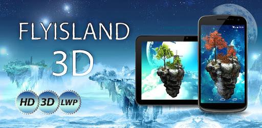 Fly Island Free 3D LWP apk