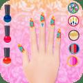 Fashion Nail Manicure & Pedicure Icon