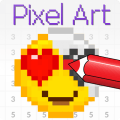 Color by Pixel - coloring pixel art Icon