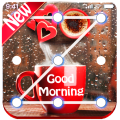 Good Morning Lock Screen Pattern keypad wallpaper Icon