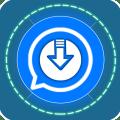 Status Downloader- Fast Status Saver & Maker Icon