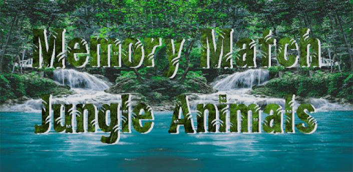 Memory Mach - Jungle Animals apk