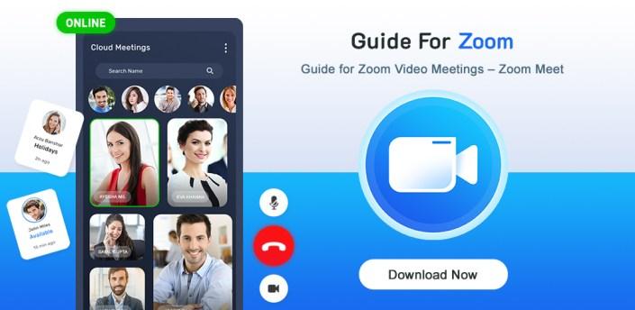 Guide for Zoom Cloud Meetings apk