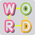 Words Connect crossword letter word Icon