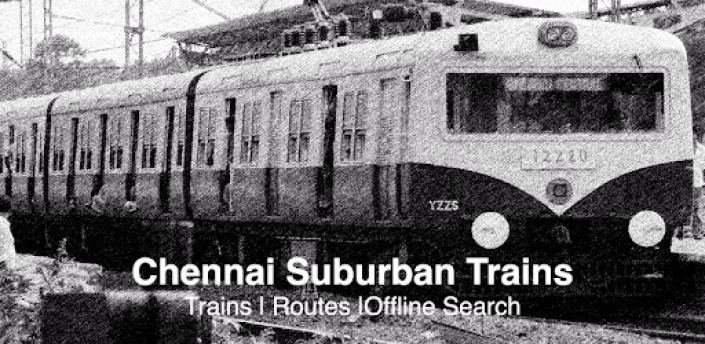 Chennai Local Train Suburban TimeTable Offline apk