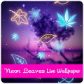 Neon Leaves Live Wallpaper Icon