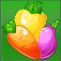 Fresh Vegetable Match - Farm Heroes Saga Icon