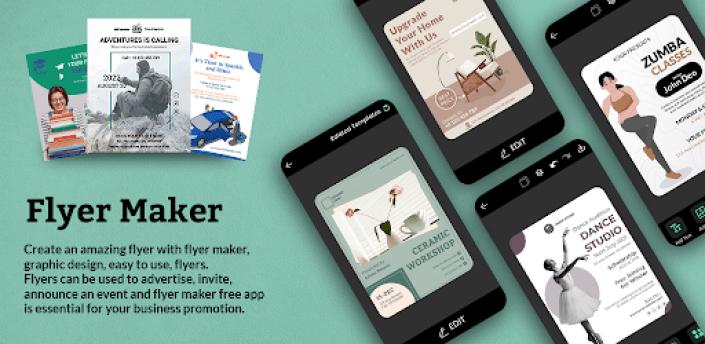 Flyers, Poster Maker, Banner Maker, Graphic Design apk