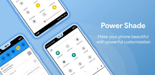 Power Shade: Notification Panel & Quick Settings apk