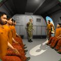 Army Criminals Transport Plane: Prisoner Transport Icon