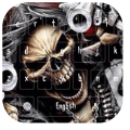 Hell Skull and Gun Keyboard Icon