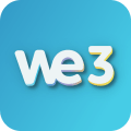 We3 - Meet New People in Groups, Make Friends App Icon