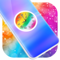 Colorful Clock Live Wallpaper Icon