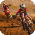 Mountain Biking Downhill Icon