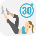 Abs & Butt Workout Icon