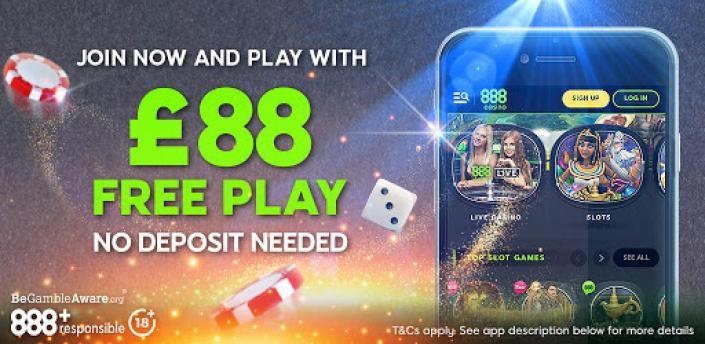 888 Casino: Slots, Live Roulette & Blackjack Games apk
