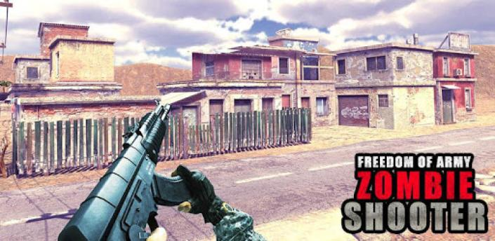 freedom of army zombie shooter: free fps shooting apk