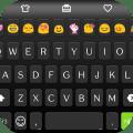 Classic Black Emoji Keyboard Icon