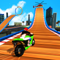 Street Bike Mega Ramp Jump Icon
