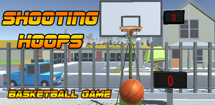 Shooting Hoops basketball game apk