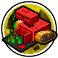 Sokoban Blocks Icon