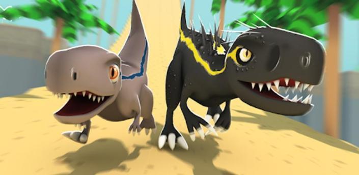 Jurassic Alive: World T-Rex Dinosaur Game apk