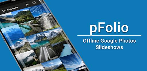 pFolio - Google Photos Gallery and Uploader apk