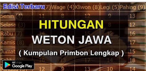Perhitungan Weton jowo Kuno apk