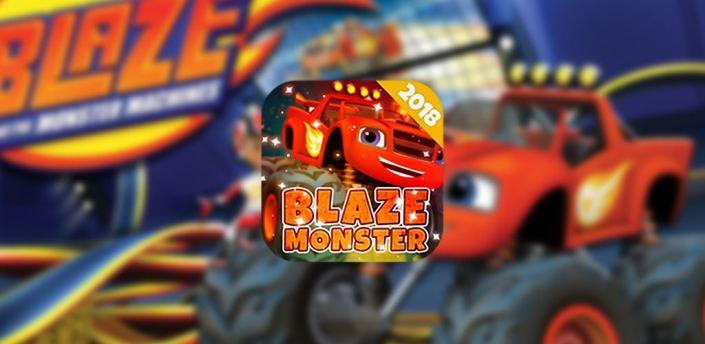 Blaze Monster Machines Racing Hill Climb 2018 apk