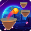 Adventure Hop Ball 3D - Hop To Crush Slices Icon