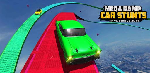 Mega Ramp Car Stunts Impossible 2019 apk