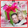 Happy Father's Day frame Icon