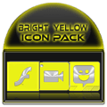 Bright Yellow Icon Pack Free Icon