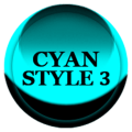 Cyan Icon Pack Style 3 ✨Free✨ Icon