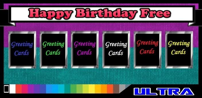 Happy Birthday Free apk