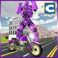 Moto Robot Transform Simulator Icon