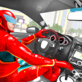 Superhero car games 2021- Real Stunt Car Racing Icon