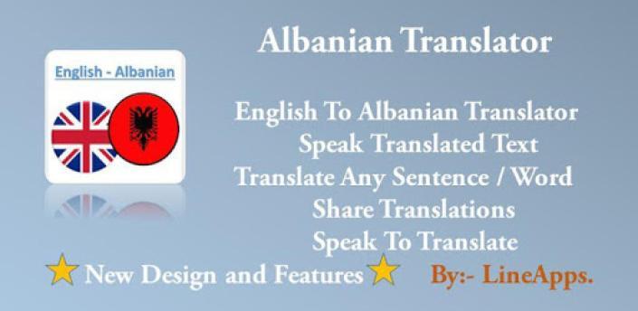 Albanian Translator apk